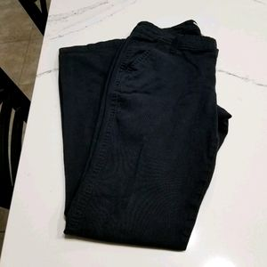 Old Navy The Diva Black Khaki Pants